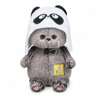 Басик в шапке – панда (20 см)