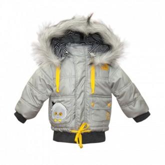 """Курточка с капюшоном из коллекции """"Little Gentleman"""" (р-ры: 074,080,086,092,098)"""