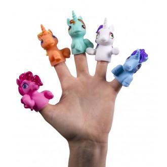 Детский пальчиковый кукольный театр «Радужные единороги»