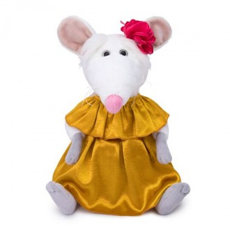Крыса в золотом платье BudiBasa (33 см)