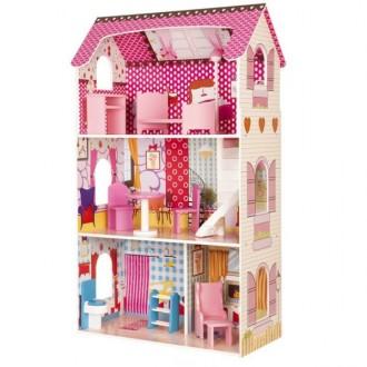 Кукольный домик ECO TOYS Poziomkowa DH617