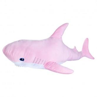 "Мягкая игрушка FANCY ""Акула"", 98 см, розовая"