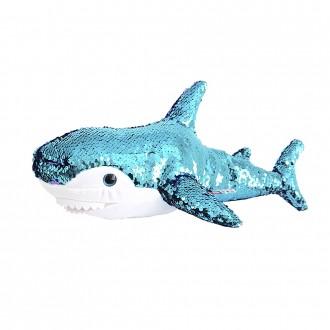 "Мягкая игрушка FANCY ""Акула"" (блестящая), 47 см"