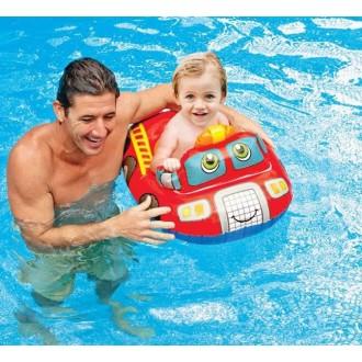 Круг для плавания с сиденьем «Транспорт», от 1-2 лет в ассортименте