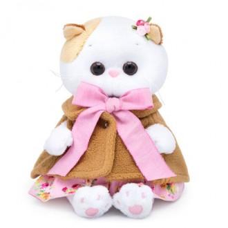 Кошечка Ли-Ли BABY в накидке и розовом сарафане (20 см)