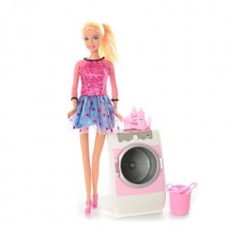 Defa Кукла Lucy со стиральной машиной