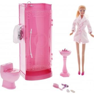 Defa Кукла Lucy в ванной комнате