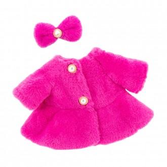 Набор одежды Lucky Doggy: Розовая шуба