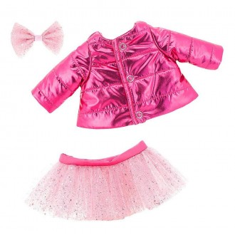 Набор одежды Lucky Doggy: Розовый пуховик