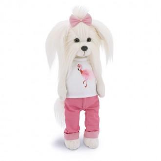 Собачка Lucky Mimi: Цвет настроения Фламинго (25 cм)