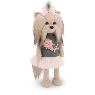 Собачка Lucky Yoyo: Чайная роза (25 см)