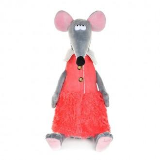 Крыска Лариска в стильной жилетке (23 см)