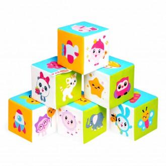 Развивающие кубики Предметики Малышарики
