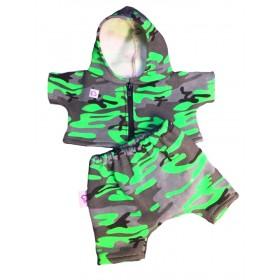 Спортивный костюм с защитным рисунком для игрушек 25-27 см