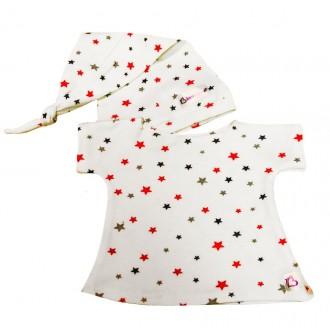 Ночная сорочка и колпачок для Зайки Ми 23 и 32 см