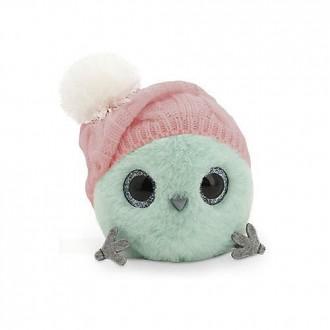 Мятный КТОтик в шапке с помпоном (13см)