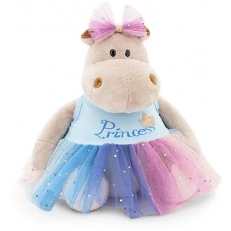 Бегемотик Принцесса: в голубом (20 cм)
