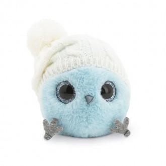 Голубой КТОтик в шапке с помпоном (13см)