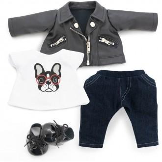 Набор одежды Lucky Doggy: Крутой парень
