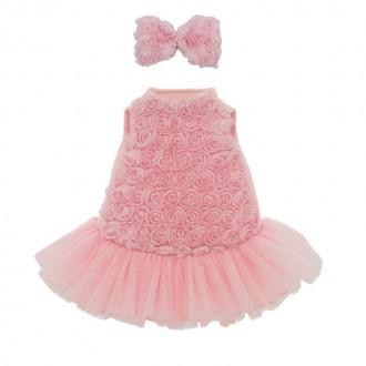 Набор одежды Lucky Doggy: Розовый микс