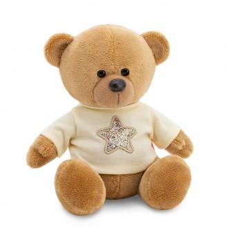 Медведь Топтыжкин коричневый: Звезда (17 см)