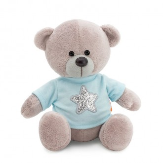 Медведь Топтыжкин серый: Звезда (25 см)
