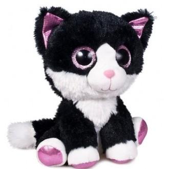 """Мягкая игрушка """"Глазастики. Котик"""" (15 см)"""