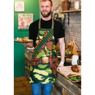 """Фартук """"Доляна"""" Генерал кухни, 60х70 см, 100% хлопок, рогожка"""