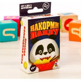 Настольная кооперативная игра «Накорми панду»
