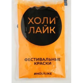 Краски холи, 100 г, цвет оранжевый