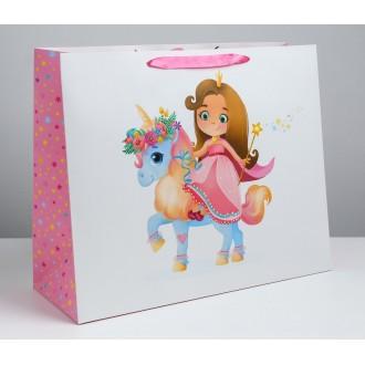 Пакет ламинированный «Принцесса», XL 49 × 40 × 19 см