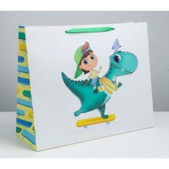 Пакет ламинированный «Победитель», XL 49 × 40 × 19 см