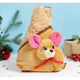 """Мягкий рюкзак """"Мышка"""" 30 см × 24 см"""