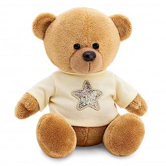 Медведь Топтыжкин звезда, цвет коричневый (25 см)