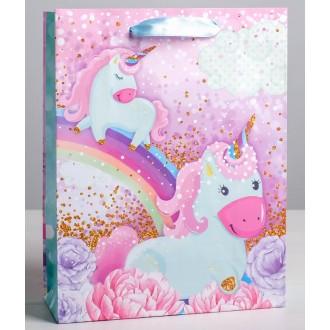Пакет ламинированный вертикальный «Розовые мечты», L 31 × 40 × 9 см
