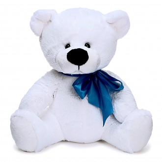 Мягкая игрушка «Медведь Паша», цвет белый, 38 см
