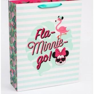 """Пакет ламинат вертикальный """"Fla-Minnie-go"""", Минни Маус, 31х40х11 см"""