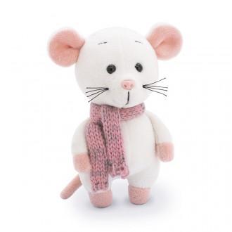 ШышелМышел в розовом шарфе (12 см)