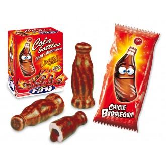 Жевательная резинка (с начинкой) Cola bottles 5г (бутылка колы) упаковка 200 штук