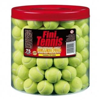 """Жевательная резинка """"TENNIS balls"""" 16г. (банка теннисных мячей) 75 штук"""