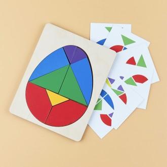 "Головоломка ""Колумбово Яйцо"" с карточками"