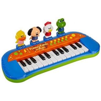 Смешное пианино Simba с животными, озвученное