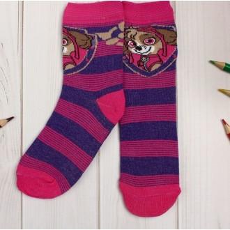 """Носки детские PAW PATROL """"Скай"""", полоски, 14-16 см, 2-3 года"""