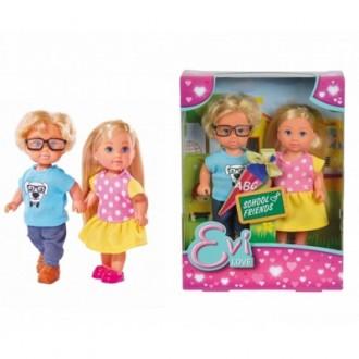 Кукла Эви +Тимми, набор (12 см)