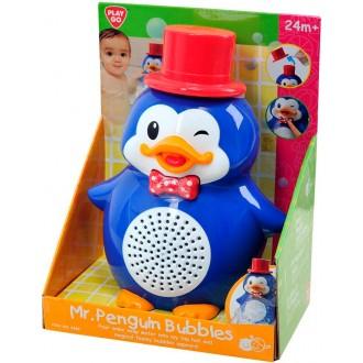 """Игрушка для ванны """"Мистер Пингвин с пузырями"""""""