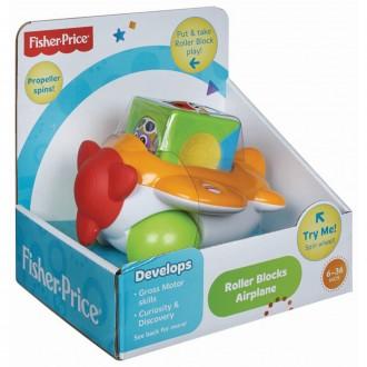 Игрушка Самолетик с волшебным кубиком Mattel Fisher Price