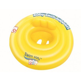 Круг для плавания с сиденьем и спинк, 4х камер Swim Safe, ступень А, 69 см от 0-1 года