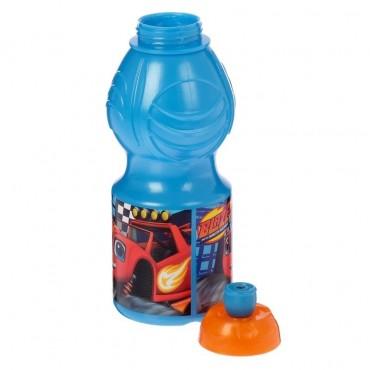 """Бутылка для воды 400 мл """"Вспыш и чудо-машинки"""", фигурная"""