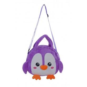 """Мягкая сумочка """"Пингвиненок"""" 21*17 cм"""