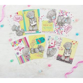 "Me To You Набор открыток ""Счастливый билет"", 9 х 13 см"